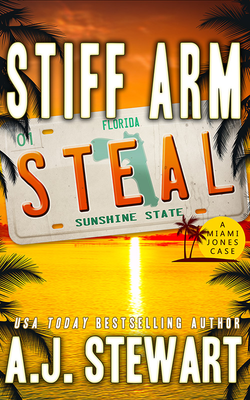Book cover for Stiff Arm Steal